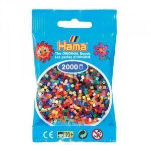 HAMA MINI MIX 2000 PIEZAS 48 COLORES