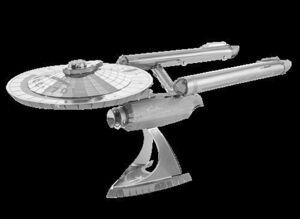 METAL EARTH STAR TREK - USS ENTERPRISE NCC-1701