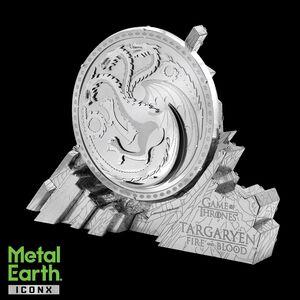METAL EARTH  GAME OF THRONES - TARGARYEN SIGIL