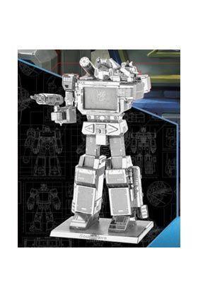 TRANSFORMERS SOUNDWAVE METAL MODEL KIT 3D 10 CM