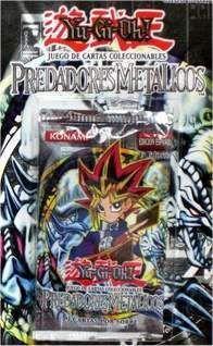 YU-GI-OH: PREDADORES METALICOS SOBRES