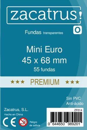 FUNDAS ZACATRUS MINI EURO PREMIUM ( 45 X 68 MM ) (55 UDS)