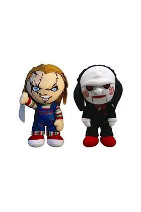 CHUCKY & SAW PELUCHES PELUCHES 20 CM CINEMA OF FEAR