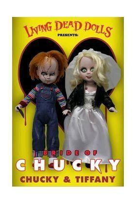 LDD PACK CHUCKY & TIFFANY 2 MUÑECOS 25 CM CHILD´S PLAY