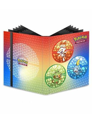 ALBUM 9 BOLSILLOS PRO BINDER POKEMON SWORD AND SHIELD GALAR ULTRA PRO