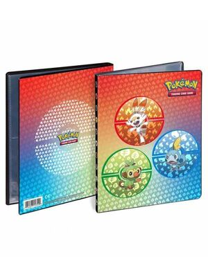ALBUM 4 BOLSILLOS PORTFOLIO POKEMON SWORD & SHIELD GALAR ULTRA PRO
