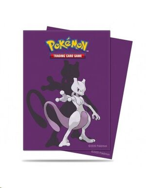 FUNDAS CARTAS POKEMON MEWTWO STANDARD ULTRA PRO (65) 66X91 MM