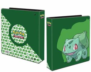 ALBUM 2 BOLSILLOS BULBASAUR POKEMON ULTRA PRO