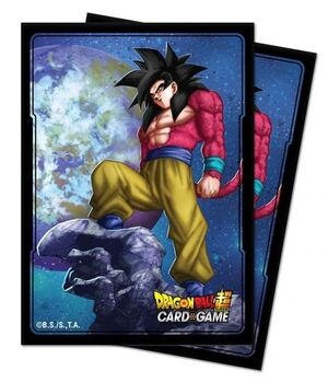 FUNDAS CARTAS DRAGON BALL SUPER STD DECK PROTECTOR SON GOKU (100)