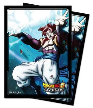 FUNDAS CARTAS DRAGON BALL SUPER STD DECK PROTECTOR GOGETA (100)