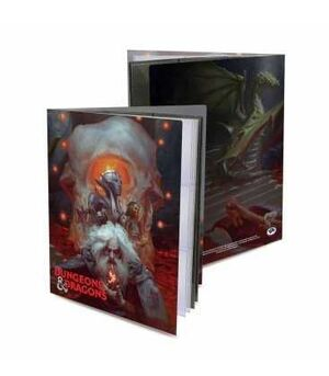 DUNGEONS & DRAGONS MAD MAGE ALBUM 10 HOJAS PERSONAJES CHARACTER FOLIO