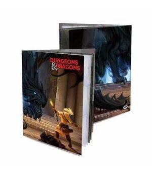 DUNGEONS & DRAGONS SHADOW DRAGON ALBUM 10 HOJAS PERSONAJES CHARACTER FOLIO