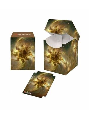 MAGIC EE DECK BOX 100+ CELESTIAL LANDS PLAINS ULTRA PRO