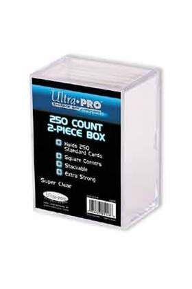 DECK BOX ULTRA PRO ACRILICA TRANSPARENTE (250 CARTAS)