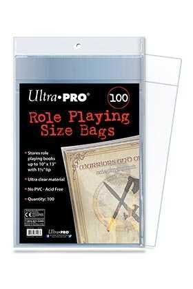 BOLSAS ULTRA PRO ROLE PLAYING 25X33CM (100)