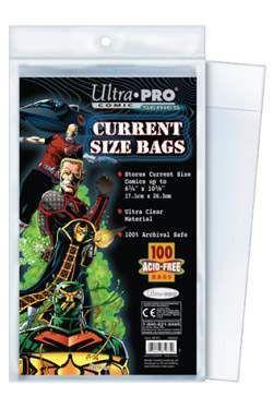 CURRENT COMIC BAGS (100) ULTRA PRO
