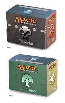 DECK BOX ULTRA PRO MAGIC SIDE LOADING SIMBOLOS MANA 2 - CONT. VIDA