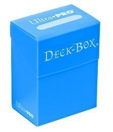 DECK BOX ULTRA PRO SOLID LIGHT BLUE (AZUL CIELO)