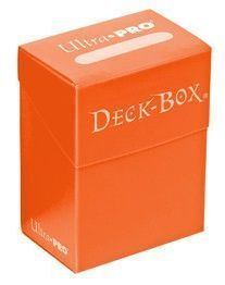 DECK BOX ULTRA PRO SOLID ORANGE (NARANJA)