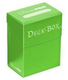 DECK BOX ULTRA PRO SOLID LIGHT GREEN (VERDE CLARO)