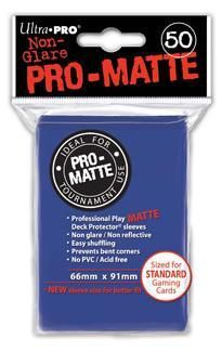 DECK PROTECTOR MATE (50) COLOR AZUL 66 X 91MM