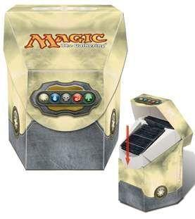 DECK BOX MAGIC ULTRA PRO COMMANDER - COLOR BLANCO