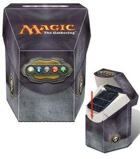 DECK BOX MAGIC ULTRA PRO COMMANDER - COLOR NEGRO