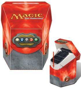 DECK BOX MAGIC ULTRA PRO COMMANDER - COLOR ROJO