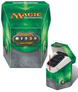 DECK BOX MAGIC ULTRA PRO COMMANDER - COLOR VERDE