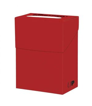 DECK BOX NEW SOLID ULTRA PRO RED (ROJO)