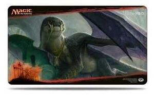 MAGIC- DRAGONES DE TARKIR TAPETE DRAGONLORD SILUMGAR 61X 34 CM