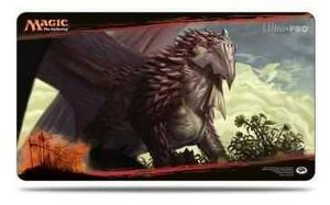 MAGIC- DRAGONES DE TARKIR TAPETE DRAGONLORD DROMAKA 61X 34 CM