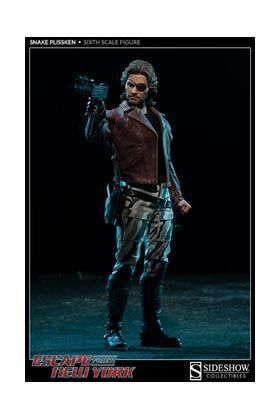 ESCAPE FROM NEW YORK FIGURA 30 CM SNAKE PLISSKEN SIXTH SCALE FIGURE HOT TOY