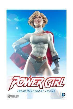 POWER GIRL FIGURA 54,61 CM PREMIUM FORMAT DC UNIVERSE