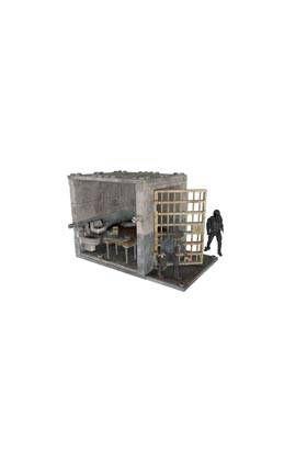 THE WALKING DEAD KIT CONSTRUCCION LOWER PRISON CELLS SET DIORAMA