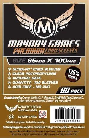 FUNDAS MAYDAY MAGNUM 65MM X 100MM (100) (COBRE)