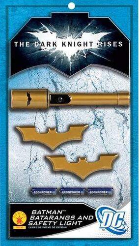 BATMAN THE DARK KNIGHT RISES ACTION-PACK LINTERNA ELECTRICA CON BATARANGS