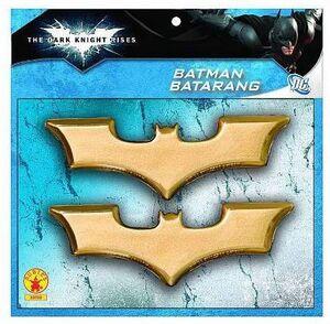 BATMAN THE DARK KNIGHT RISES PACK DE 2 BATARANGS