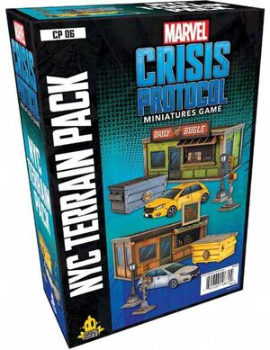 MARVEL CRISIS PROTOCOL MINIATURES GAME NYC TERRAIN PACK (INGLES)
