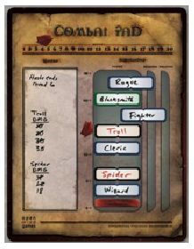 GAME MASTERY: COMBAT PAD
