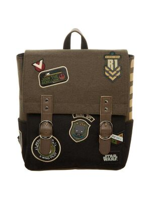 STAR WARS ROGUE ONE MOCHILA REBEL PATCHES