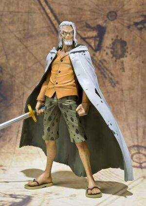 ONE PIECE FIG FIGUARTS ZERO SILVERS RAYLEIGH