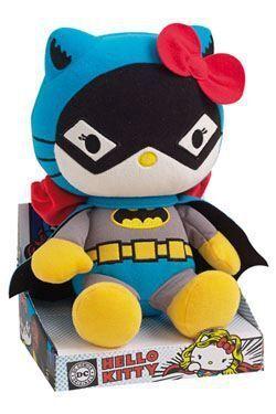 HELLO KITTY PELUCHE BATWOMAN 27 CM DC