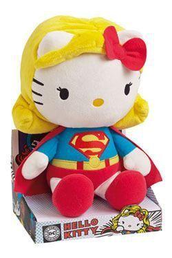 HELLO KITTY PELUCHE SUPERWOMAN 27 CM DC