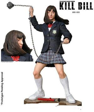 KILL BILL SERIE 1 - GO-GO FIG