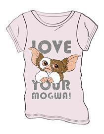 GREMLINS CAMISETA CHICA LOVE YOUR MOGWAI L