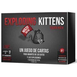 EXPLODING KITTENS EDICION NSFW