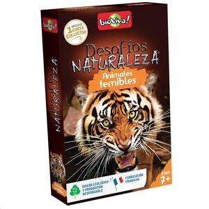 DESAFIOS DE LA NATURALEZA: ANIMALES TEMIBLES
