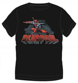 DEADPOOL CAMISETA DEADPOOL ESPADA XXL