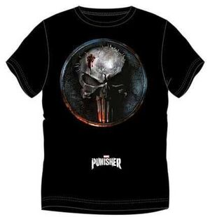 PUNISHER CAMISETA LOGO METAL S